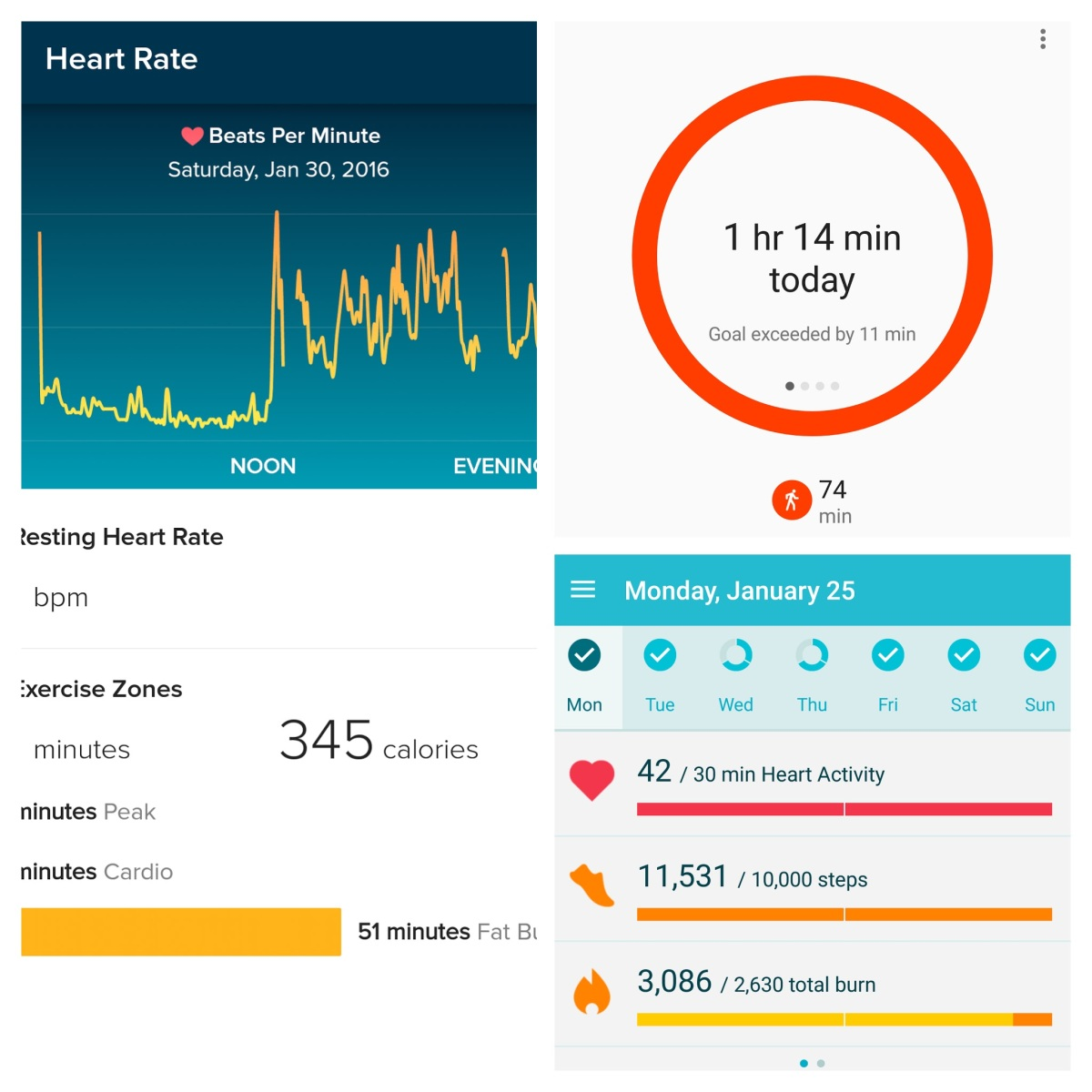 One week wearing a Moto 360 and Fitbit – PartOne