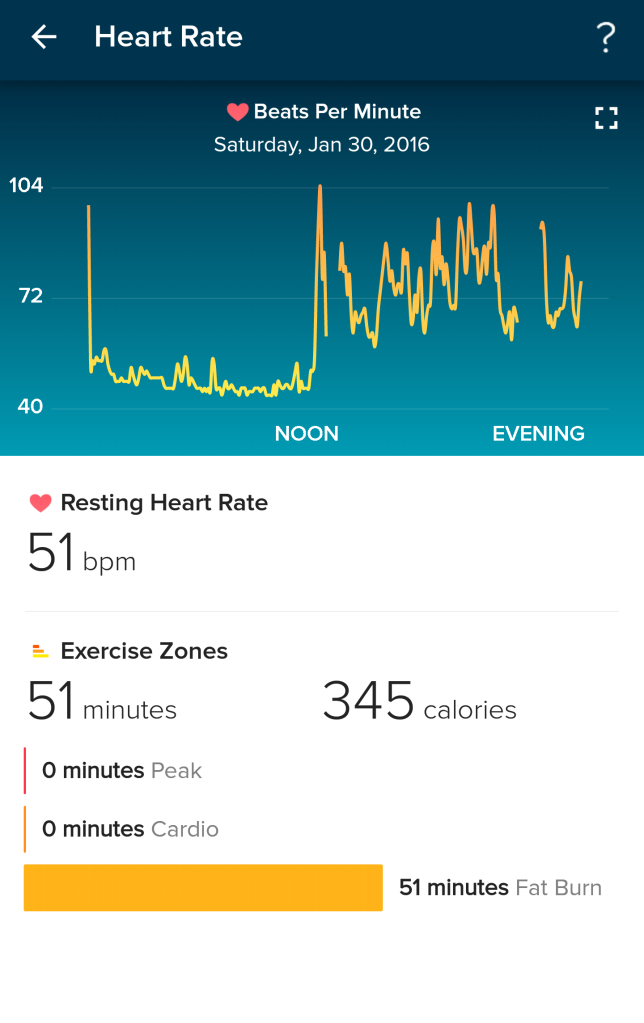 Heart Rate - Fitbit
