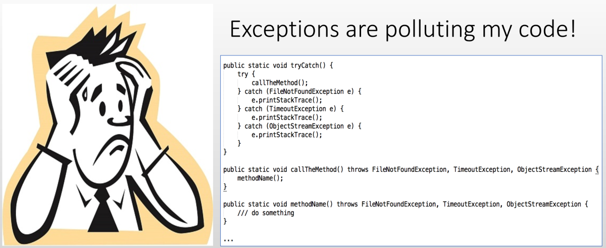 How to handle Java exceptions in clean code? – Part 2
