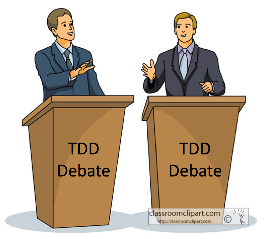 My takeaways from a TDD debate between Cope & Uncle Bob